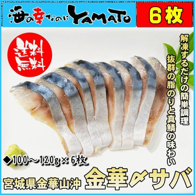 金華しめ鯖 100〜120g×6枚 シメサバ 〆さば 冷凍...