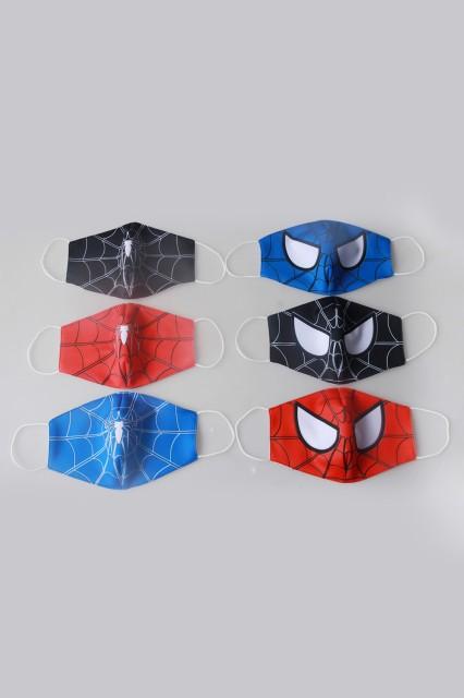 スパイダーマン 6枚セット マスク 花粉対策 マス...