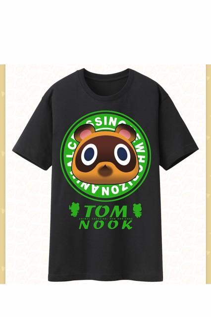 あつまれ どうぶつの森 たぬきち 黒Tシャツ グッ...