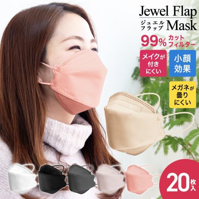 新商品【送料無料】血色マスク  4層構造 3D 立体 ...