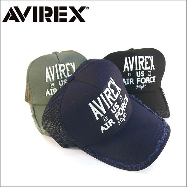 AVIREX アビレックス メッシュキャップ 帽子 ミリ...