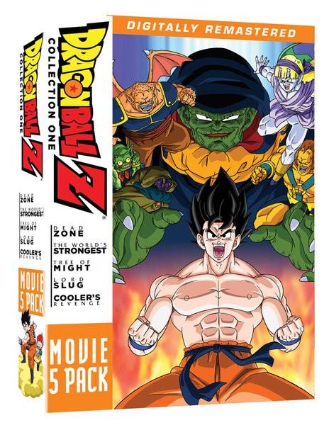 ドラゴンボール Z 劇場版 1 5本セット DVD (1-4 2...