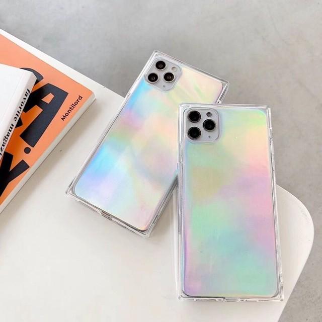 iphone11 ケース 韓国 TPU シリコン オーロラスク...