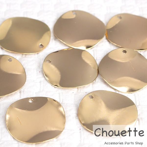 チャーム ウェーブサークル 銅製品 4個 Sサイズ ...