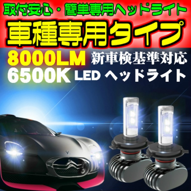 送料無料 車種別LEDヘッドライト フィット GK3.4....