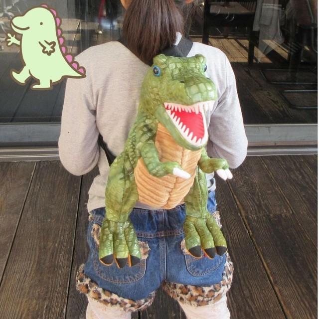 リアル恐竜がバッグになって登場ゴジラ ダイナソ...