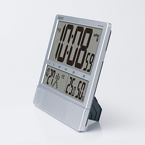 セイコー クロック 掛け時計 置き時計 兼用 電波 ...
