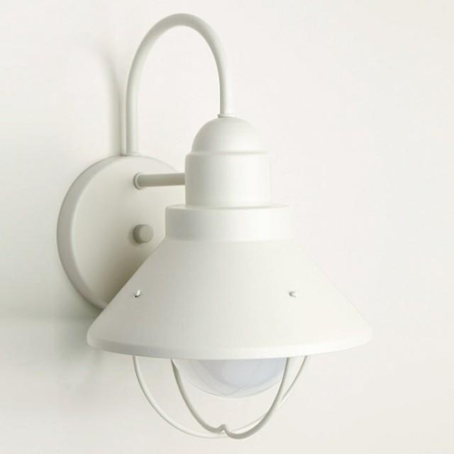 玄関 照明 ポーチ灯 ポーチライト LED電球付属  W...
