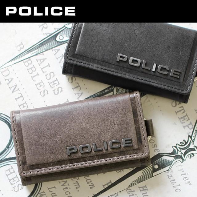 ポリス POLICE 6連キーケース EDGE エッジ 0579/P...
