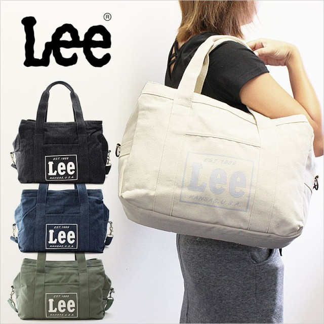 Lee リー 2WAYトートバッグ/ショルダーバッグ exc...