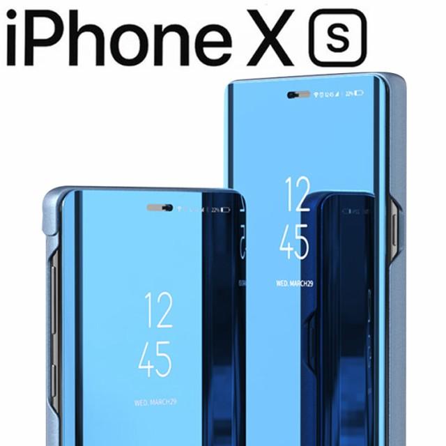 【送料無料】iPhoneXS ケース 手帳型 ケース ミラ...