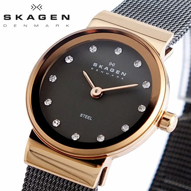 スカーゲン SKAGEN 腕時計 レディース 358XSRM ス...