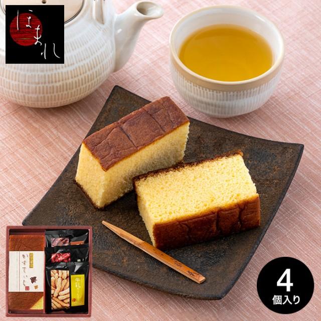 ギフト 送料無料 カステラ ギフト 和菓匠菴 「ほまれ」和三盆糖入かすてぃら御詰合せ NHMR-AE B5 / 出産内祝い 内祝い k_sweets