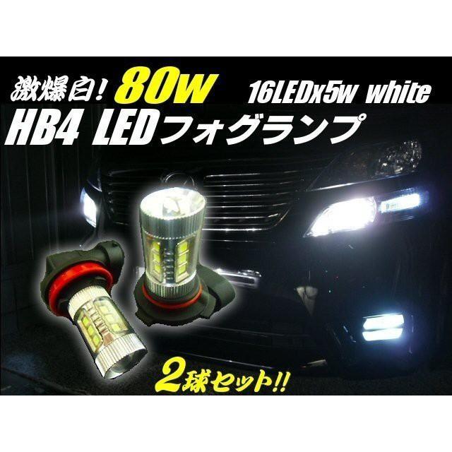 12v 24v 兼用 HB4 フォグランプ LED 白色 6000k ...