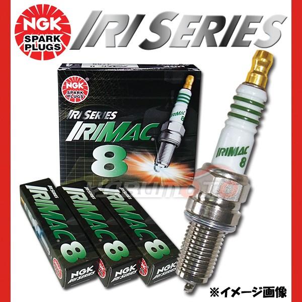 スズキ ワゴンR MC21S NGK 高熱価プラグ IRIMAC8 ...