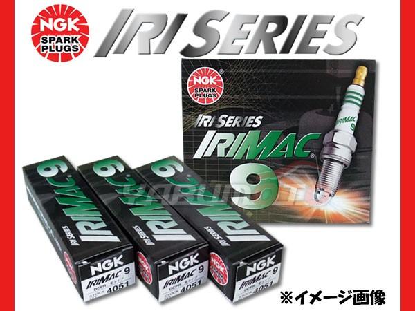 スズキ ジムニー JB23W NGK 高熱価プラグ IRIMAC9...