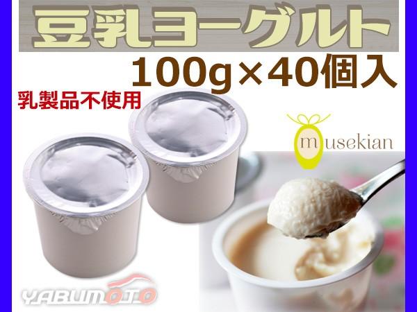 豆乳ヨーグルト 40個入 国産大豆 100% 6種の乳酸...