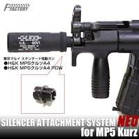 ライラクス製 東京マルイMP5 Kurz SAS(サイレンサ...