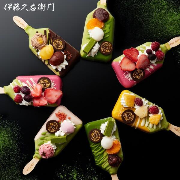 抹茶パフェアイスバー 8本入 【冷凍】【送料込み...