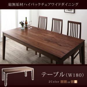 【単品】ダイニングテーブル 幅180cm【Lilt】ウォ...