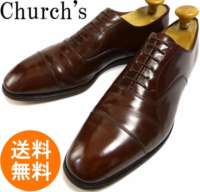 【希少】旧チャーチ Church ストレートチップシュ...
