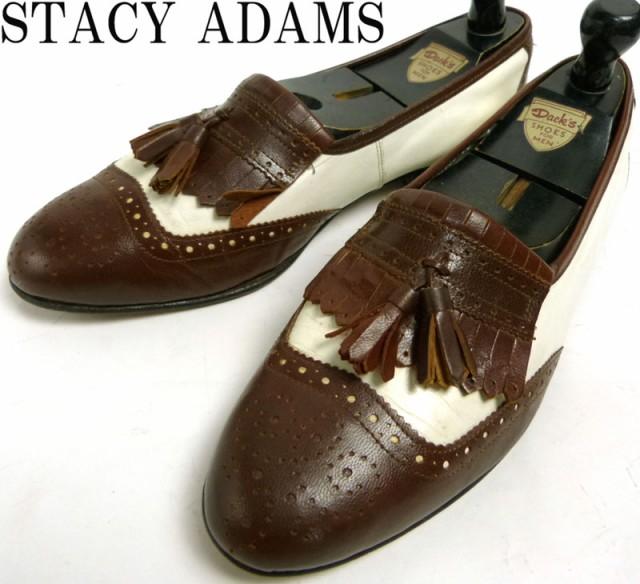ステイシーアダムス STACY ADAMS 2トーン レザー...