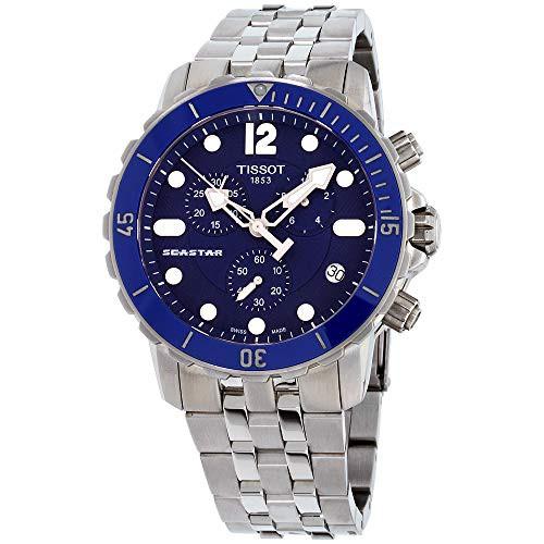 ティソ Tissot 腕時計 メンズ ブルー T0664171104...
