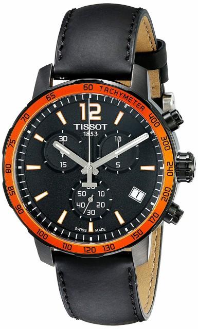 ティソ 腕時計 Tissot Quickster クロノグラフ メ...