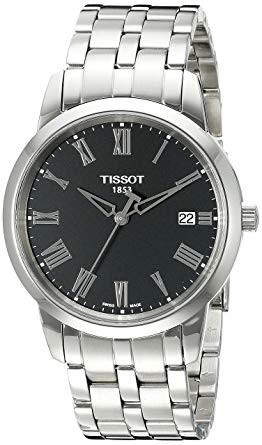 ティソ Tissot メンズ ウォッチ ブラック T033.41...