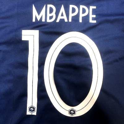 子供用 K043 18 フランス MBAPPE*10 ムバッペ エ...