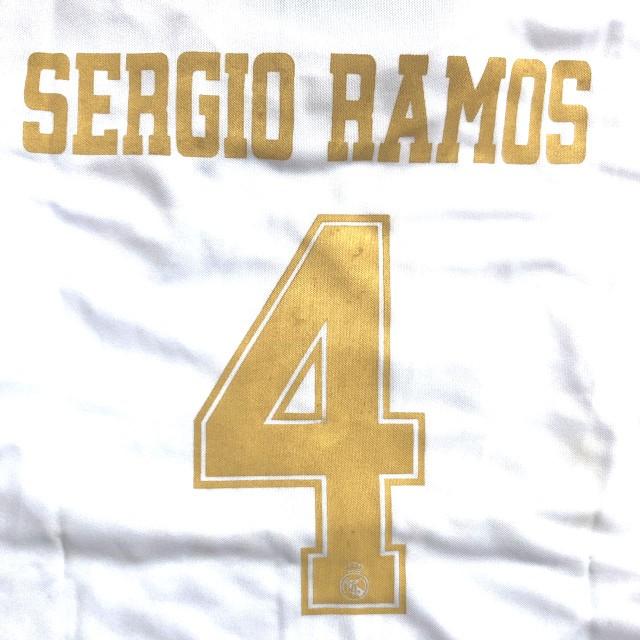 子供用 K001 20 レアルマドリード SERGIO RAMOS*4...