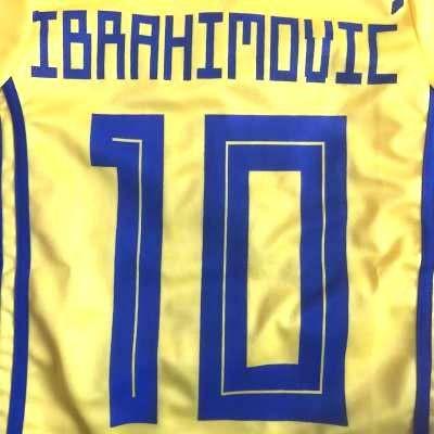 子供用 K129 19 スウェーデン IBRAHIMOVIC*10 イ...