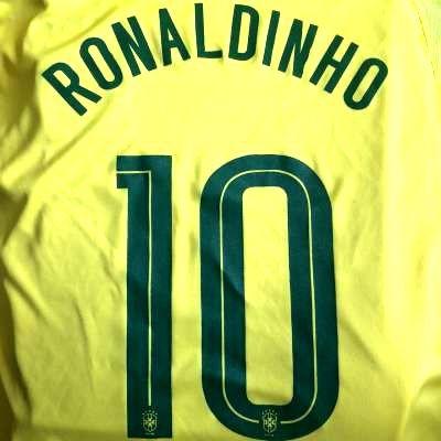子供用 K012 20 ブラジル RONALDINHO*10 ロナウジ...