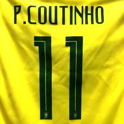 子供用 K012 20 ブラジル COUTINHO*11 コウチーニ...
