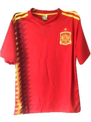 大人用 A014 18 スペイン 赤 ゲームシャツ パンツ...
