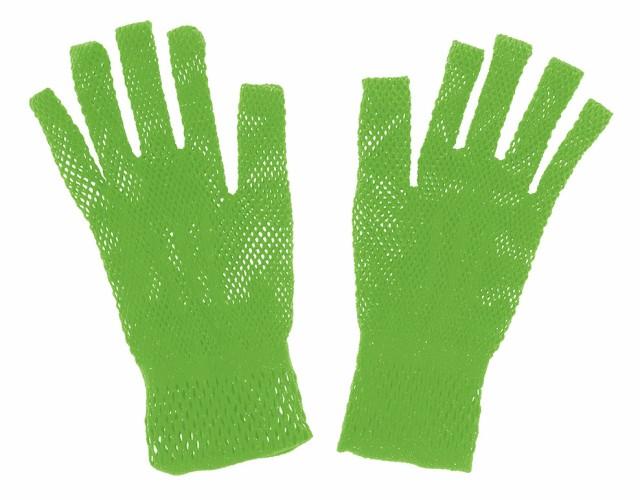 あみあみ手袋 黄緑(約4〜7日後出荷)