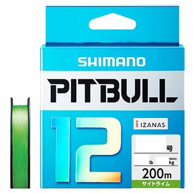 PEライン 釣り糸 シマノ SHIMANO PITBULL 12 (...