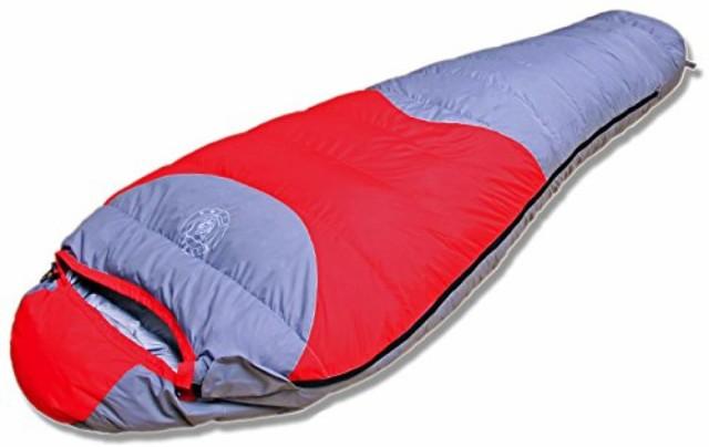 寝袋 ダウン マミー型 シュラフ 600FP 耐寒-25度 ...