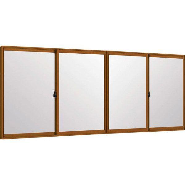 トステムインプラス 引き違窓 4枚建 複層ガラス ...