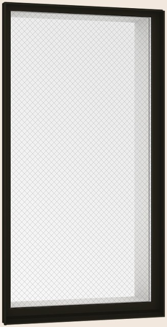 防火戸FG-H FIX窓外押縁 Low-E複層ガラス(防犯合...