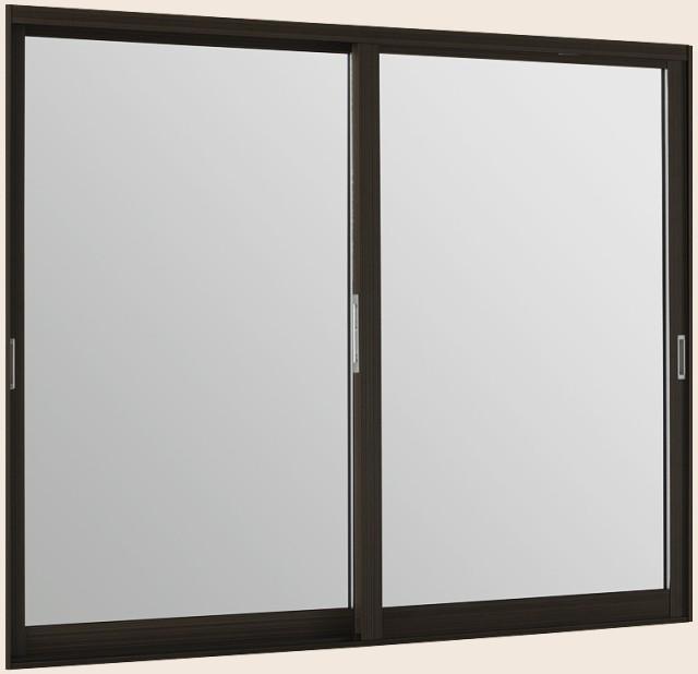 インプラスウッド 引違い窓 2枚建 Low-E複層クリ...