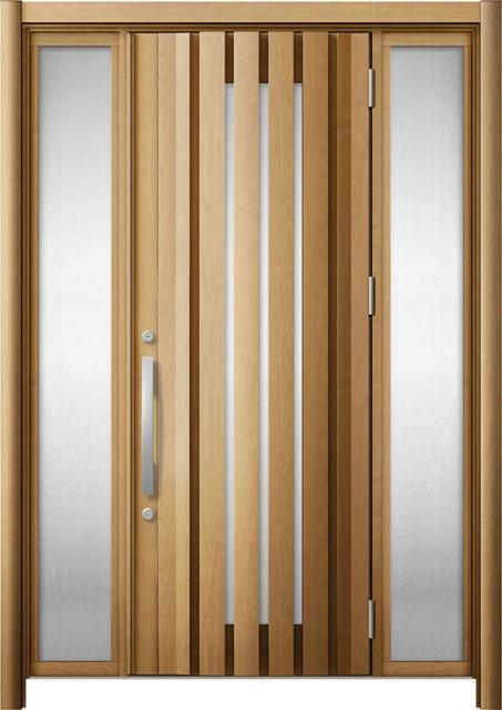 玄関ドア リシェント3 断熱 K2 G14型 両袖 W:1,2...
