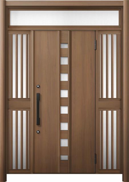 玄関ドア リシェント3 断熱 K2 M28型 両袖ランマ...