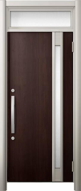 玄関ドア リシェント3 断熱仕様 ランマ付 K2 M78...