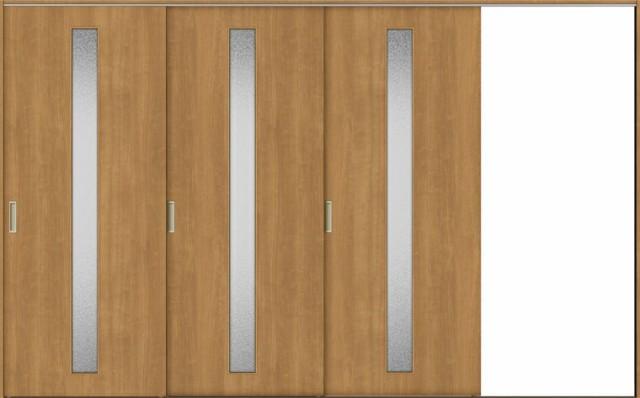 TA 室内引戸 Vレール方式 片引戸3枚建て 鍵なし D...
