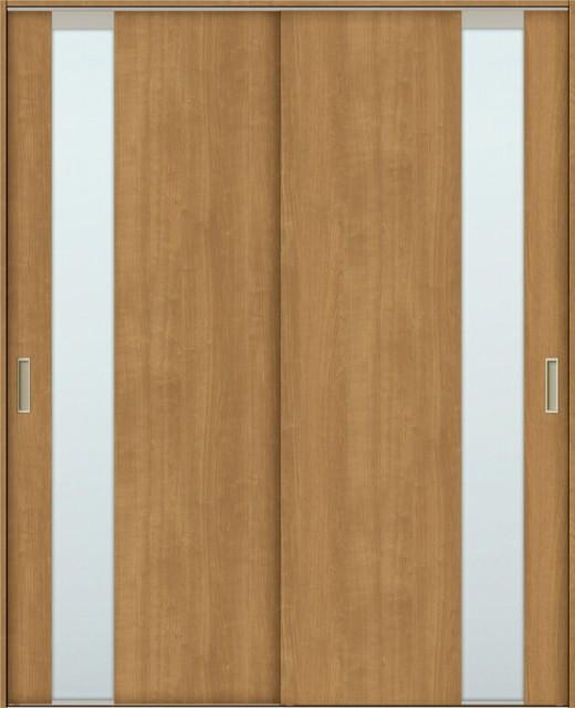 TA 室内引戸 Vレール方式 引違い戸2枚建て 鍵なし...