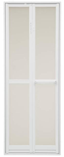浴室2枚折ドア 内付型 樹脂パネル付き 0718 W:75...
