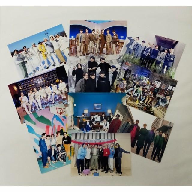 BTS 防弾少年団 L版 写真 10枚セット 韓流 グッズ...