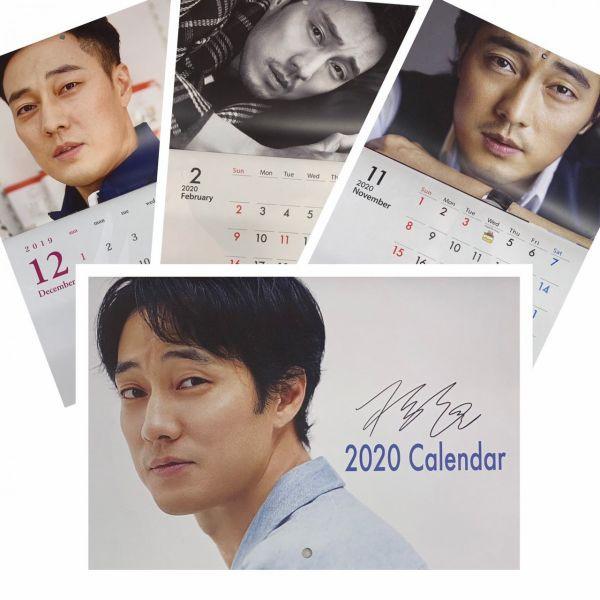 ソジソブ 2020 壁掛け カレンダー  韓流 グッズ f...