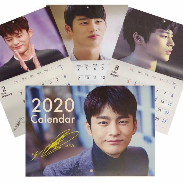 ソイングク 2020 壁掛け カレンダー  韓流 グッズ...